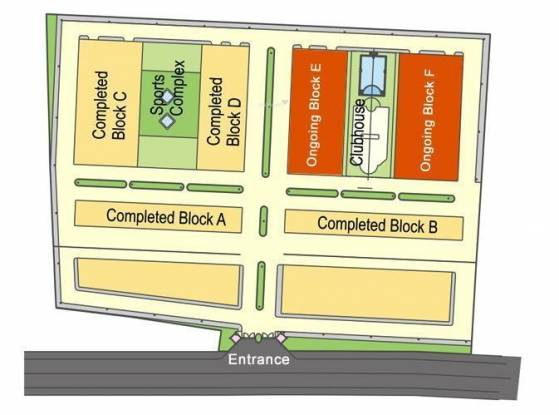 Shanta Satellite Township Block F Site Plan