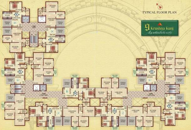 Shree 9 Krushna Kunj Cluster Plan