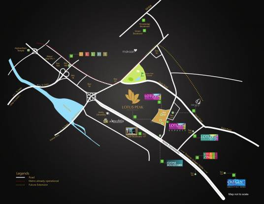 3C Lotus Peak Location Plan