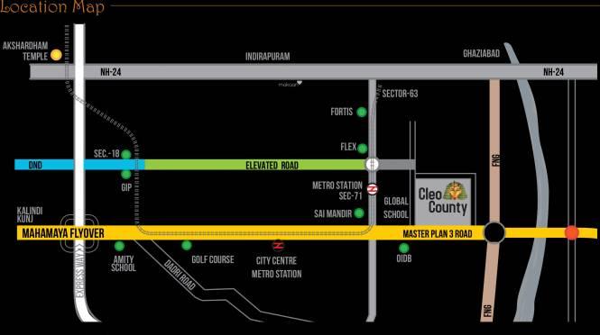 Cleo County Location Plan