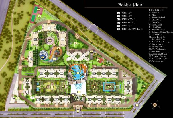 Cleo County Master Plan