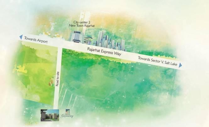 Space Club Town Gateway Location Plan