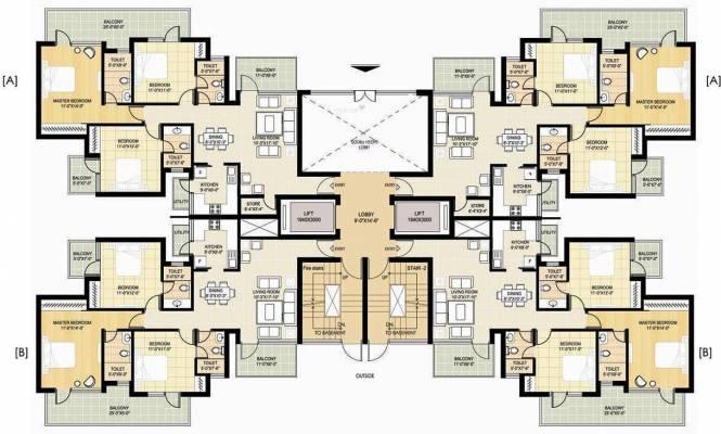 Ramprastha Primera Cluster Plan
