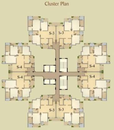 Gaursons Saundaryam Cluster Plan
