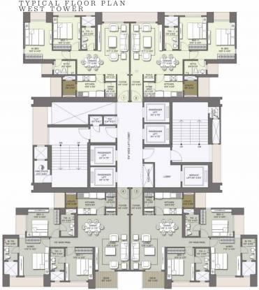 Lodha Venezia Cluster Plan