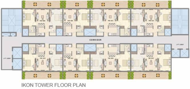 Baani City Center Cluster Plan