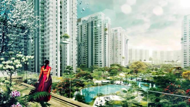 Bhartiya Nikoo Homes Elevation