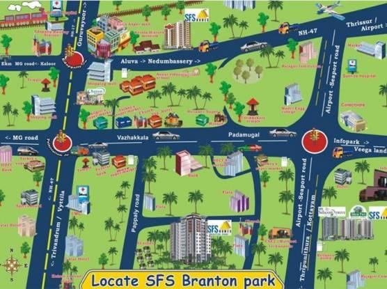 SFS Branton Park Location Plan