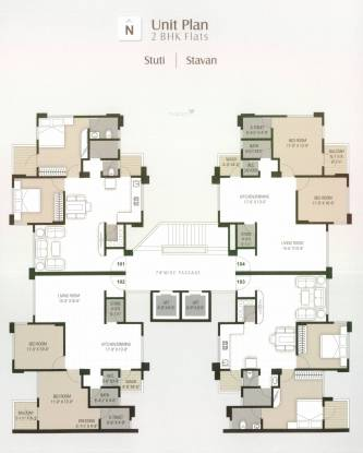 Chanchal Rang Raag Residency Cluster Plan