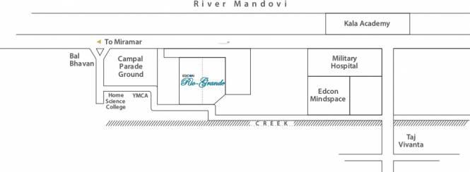 Edcon Real Estate Developers Rio Grande Location Plan