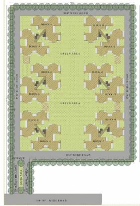 NH Aero Homes Layout Plan