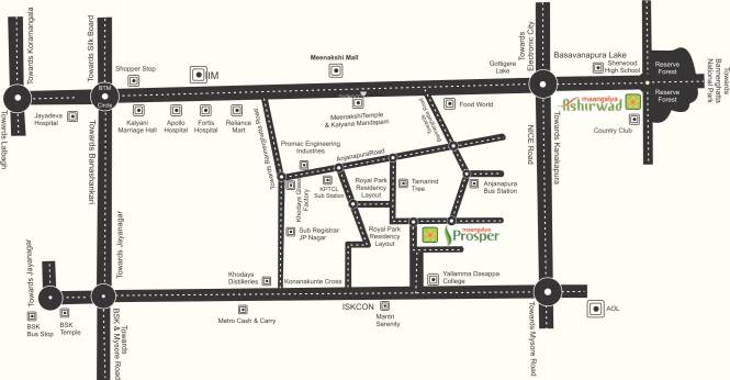 Maangalya Prosper 1 Location Plan