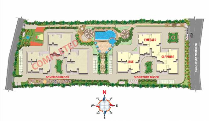 Maangalya Prosper Signature Block Phase 1 Master Plan