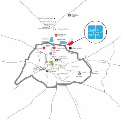 Karle Town Centre Zenith Location Plan