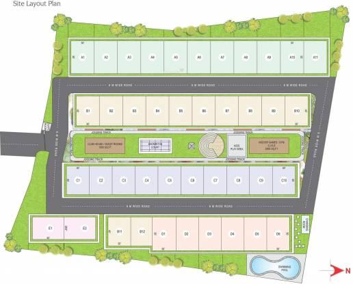 MJR Gulmohar Avenue Layout Plan