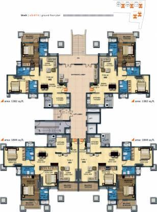 MRKR Mera Homes Cluster Plan