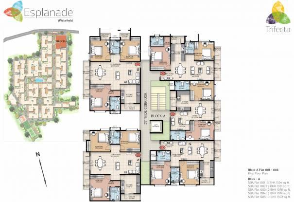 Trifecta Esplanade Cluster Plan