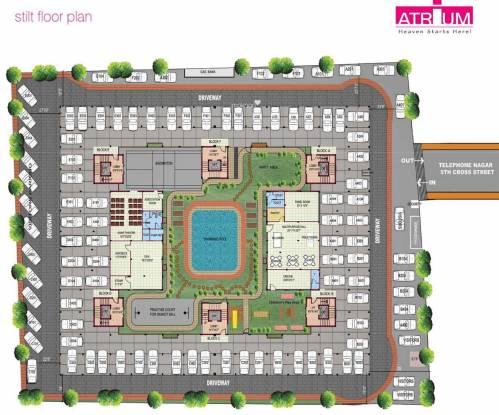 Urban Tree Atrium Cluster Plan