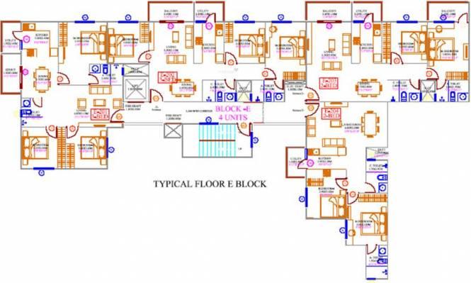 Concorde Tech Turf Cluster Plan