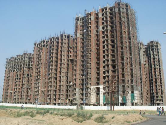 Aditya Luxuria Estate Construction Status