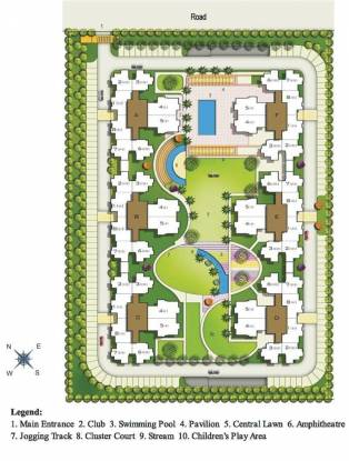 Aditya Luxuria Estate Site Plan