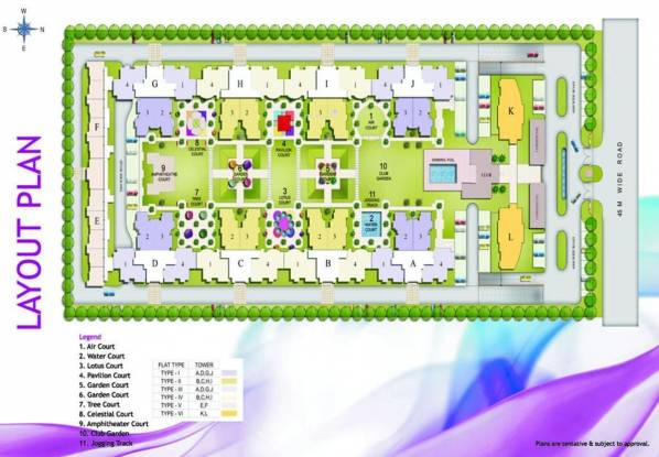 Aditya Celebrity Homes Layout Plan