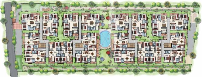 Adithya Serene Cluster Plan