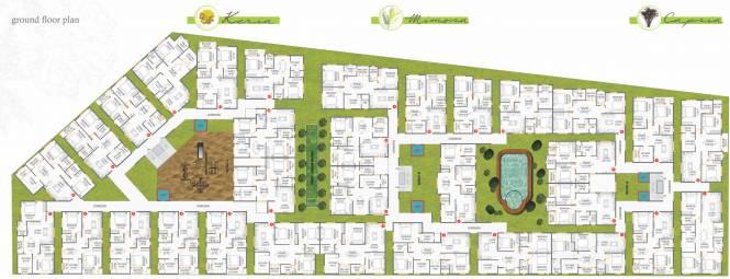 Adithya Pristine Cluster Plan