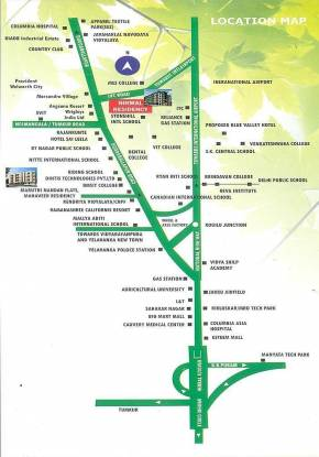 Arihant Nirmal Residency Location Plan
