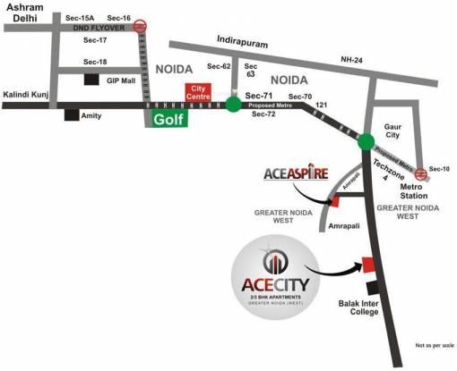 Ace City Location Plan