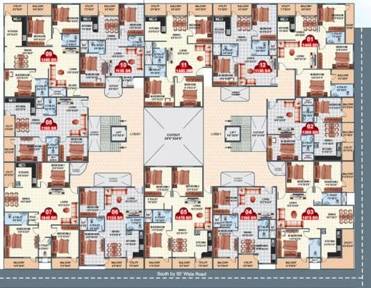 Neeladri Prince Cluster Plan