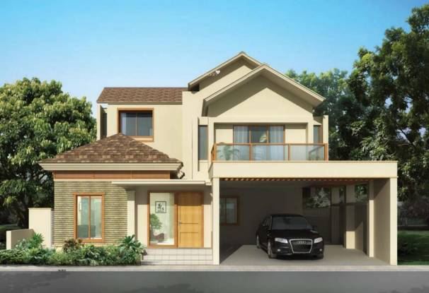 Brigade Orchards Pavilion Villas Elevation