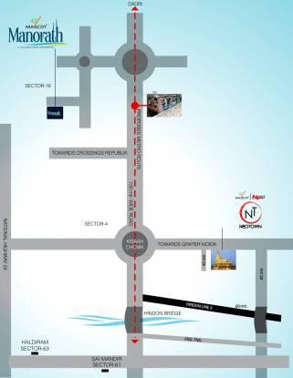 Mascot Manorath Location Plan