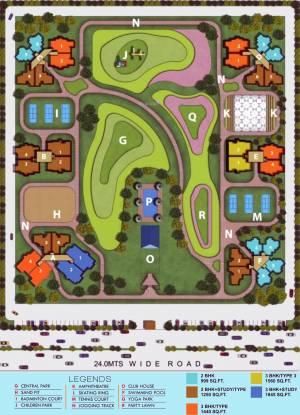 Mascot Manorath Site Plan