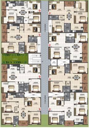 JS Saritha Elegance Cluster Plan