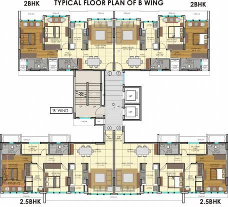 Runwal Elina Cluster Plan