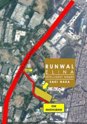 Runwal Elina Location Plan