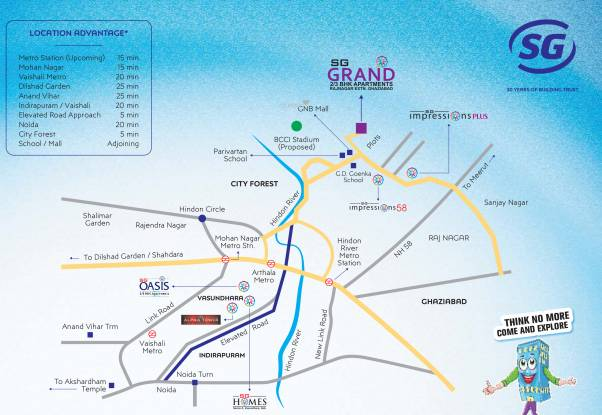 SG Grand Location Plan