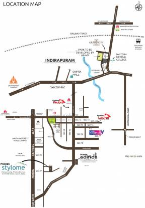 Prateek Stylome Location Plan