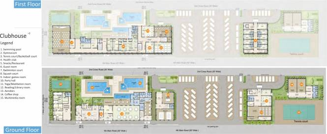 Sare CrescentParC Layout Plan