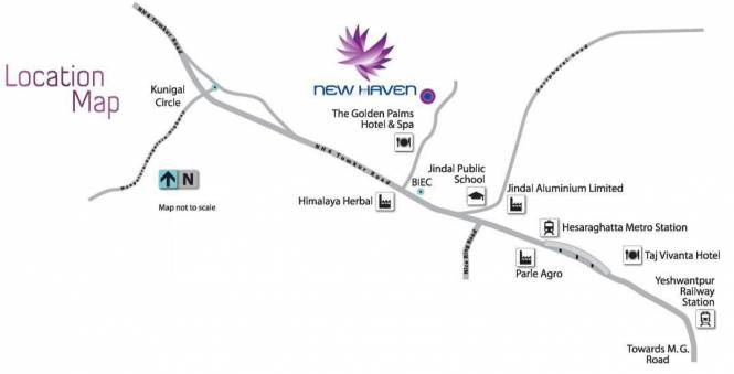TATA New Haven Location Plan