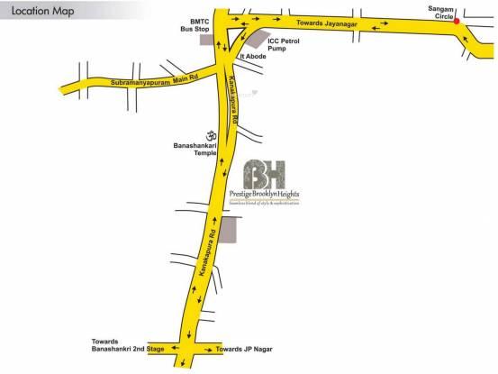 Prestige Brooklyn Heights Location Plan