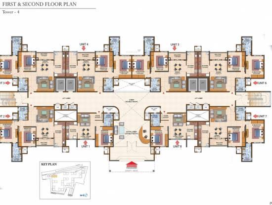 Prestige Royale Gardens Cluster Plan