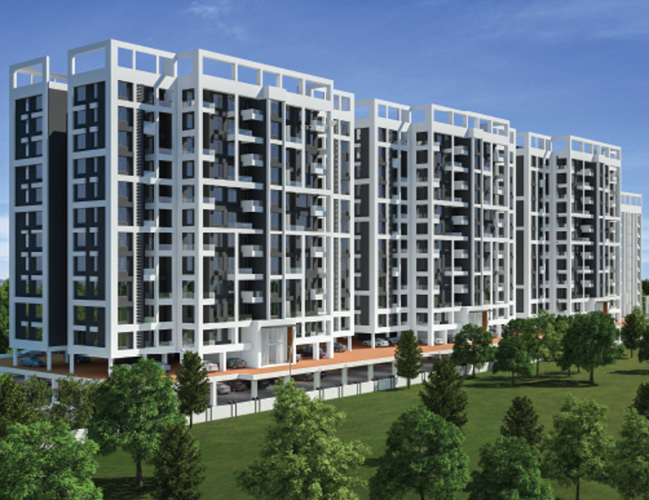 1004 sq ft 2BHK 2BHK+2T (1,004 sq ft) Property By Proptiger In Prolife, Wakad