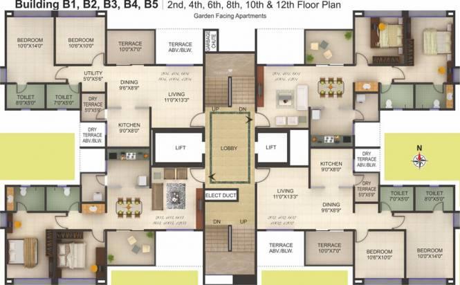 Kumar Princeville Cluster Plan