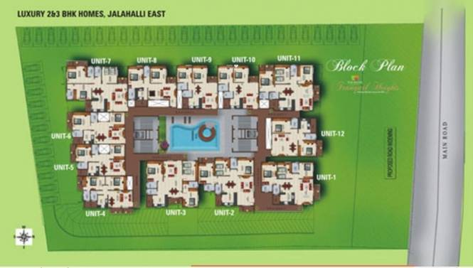 Cosmos Shivalik Homes Cluster Plan