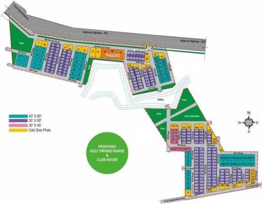 LG Tranquil Woods Master Plan