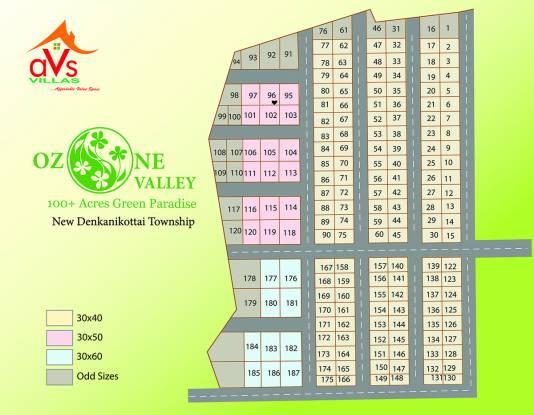 AVS Ozone Valley Layout Plan