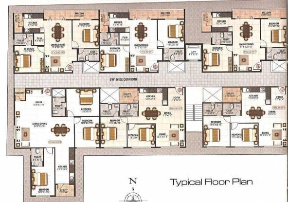 Divya MN Luxuria Site Plan
