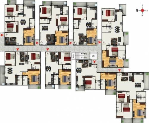 Anand Aster Cluster Plan